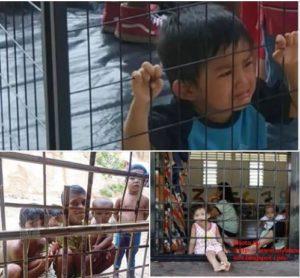detained Filipino children